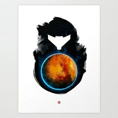Metroid Prime Art Print by Iwilding -