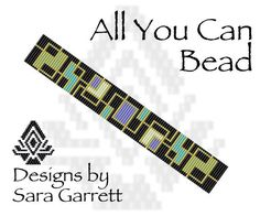 PATTERN ONLY. Create this beautiful loom stitch cuff bracelet. Odd count with X bead colors. 19 bead columns by 100 bead rows. Loom Bracelet Patterns, Bead Loom Bracelets, Macrame Bracelets, Bead Crochet Patterns, Peyote Patterns, Beading Patterns, Stitch Patterns, Bead Loom Designs, Happiness