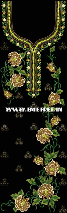 Dress, kurta suite embroidery design, karina Kurti And Dress Embroidery Design Embroidery Works, Gold Embroidery, Embroidery Dress, Embroidery Designs, Design Suites, Angel Art, Textile Patterns, Prints, Kurti