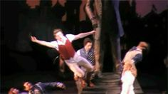 Aaron Tveit being adorable as Fiyero and booping Galinda's nose <--- He is as smooth as all get out okay