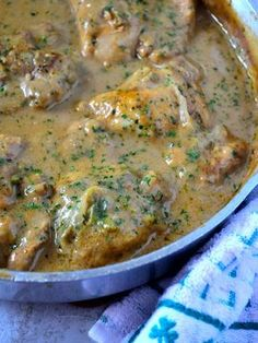 Smothered chicken a soul food southern smothered chicken recipe quick and comforting dinner doesnt have to take hours try my smothered chicken and gravy recipe dont forget the rice or mashed potatoes forumfinder Image collections