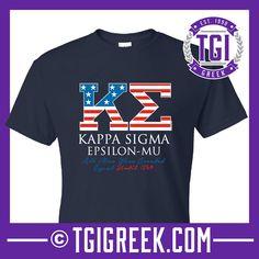 Kappa Sigma - TGI Greek - Comfort Colors - Greek T-shirts - #TgiGreek #KappaSigma