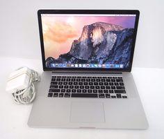 "Apple MacBook Pro 15"" Retina Intel Core i7 2.40GHz, 8GB RAM, 256GB SSD Yosemite #mac #macbook"