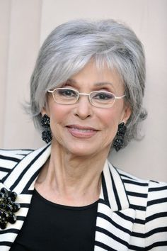 Rita Moreno--an accomplished woman who has aged with dignity, style and beauty.