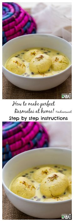 Popular Indian Sweet - Indian Cottage Cheese Dumplings Soaked In Sweetened…