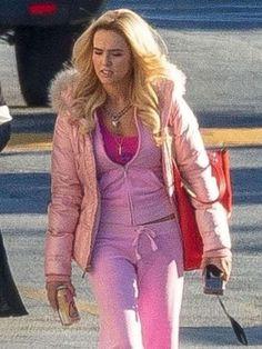 Zoey Deutch Movies, Zombieland 2, Grumpy Cat Humor, Shearling Jacket, Friends Fashion, Pink Jacket, White Fur, Bellisima, Hooded Jacket