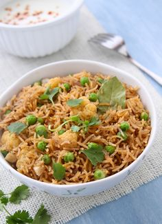 Tahiri – Dum Cooked Basmati Rice With Black Spices Rice Bowls, Rice Dishes, Cooking Basmati Rice, Spiced Rice, Asian Recipes, Ethnic Recipes, Biryani, Spicy, Yummy Food