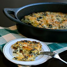 Quinoa and Kale Gratin. This looks seriously delish. I would probably stick with Spinach though since that's what I usually have on hand.