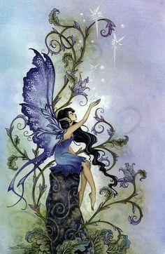 Fairy Art Artist Amy Brown: The Official Online Gallery. Fantasy Art, Faery Art, Dragons, and Magical Things Await. Fantasy Kunst, Fantasy Art, Dragons, Elfen Fantasy, Amy Brown Fairies, Dark Fairies, Kobold, Fairy Pictures, Love Fairy
