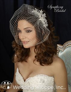 Order a Symphony FL1340 Flower Hair Accessories at The Wedding Shoppe today