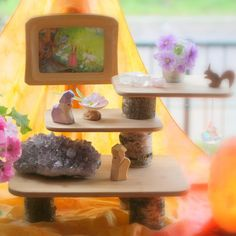 A seasonal nature table can be such a lovely element in any Waldorf or nature inspired home. For me it is a wonderful way to visualize th...