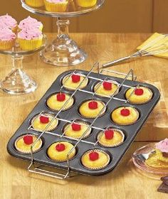 """Debbie Mayer Cupcake Genius. 12 Cup Surprise Cupcake or Muffin Pan by Debbie Mayer. $25.00. Easily bake gourmet filled cupcakes at home! A new, original design for serving up fun Details: 17-3/4"""" x 11-3/4"""" x 3-1/2"""" Carbon steel and silicone Dishwasher safe Oven safe up to 425°F. You don't have to be a professional to make perfect filled treats with the Debbie Meyer Cupcake Genius. The special frame with nonstick silicone molds creates hollows in your cupcakes as they ..."""