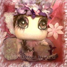 "Custom 10"" Flower Fairy doll. £30.00, via Etsy."