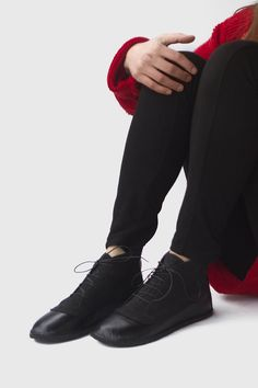 af6302ea31f00a Image of Billie - Two textures Ankle boots Cotton Lace