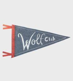 Wolf Cub Felt Pennant
