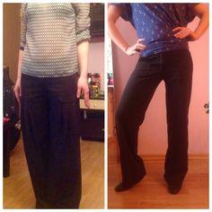 Изменение брюк ...