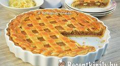 Rácsos almás pite - Receptkirály.hu