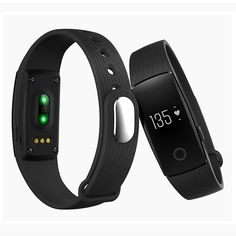 ID107 Free Shipping Bluetooth 4.0 Smart Bracelet smart band Heart Rate Monitor Wristband Fitness Tracker for Android iOS