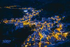 Castelmezzano by night by Federico Ravassard on 500px