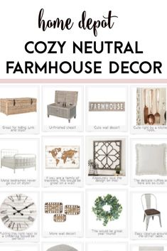 This is a great collection of farmhosue decor living room ideas that you will absolutely love. These modern furniture with rustic appeal will look great in any farmhouse style fixer upper living room.