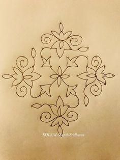 49 Ideas For Flowers Design Drawing Artworks Simple Rangoli Designs Images, Rangoli Border Designs, Rangoli Patterns, Rangoli Ideas, Rangoli Designs With Dots, Rangoli With Dots, Beautiful Rangoli Designs, Dot Rangoli, Free Hand Rangoli Design