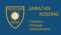 Jawatan Kosong AiU-Irsyad International School di Alor Setar Kedah   AiU-Irsyad International School is a premier Islamic Mission School in Alor Setar Kedah invite people like you who are hungry to make a difference in this world. Apply for the following posts with appropriate Educational Professional qualifications and working experience.  Jawatan Kosong AiU-Irsyad International School  TeachersPrimary level 1.English 2. Mathematics 3. Science 4. Information & Communication Technology 5…