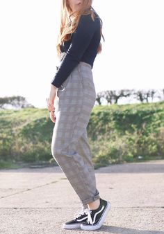 Check Trousers | Tiffany Tales