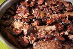 Ponto de Espadana: Arroz de entrecosto em vinha d'alhos | Rice with roast pork ribs in wine and garlic Pork Ribs, Garlic, Roast, Rice, Beef, Cooking, Pork Roast, Rice Recipes, Recipes