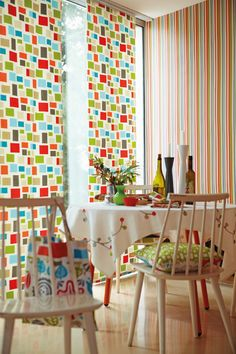 Melinki Wallpaper and Fabric. (source Scion) Wallpaper Australia / The Ivory Tower Fabric Wallpaper, Of Wallpaper, Scion Fabric, Interior Design Courses, Kitchen Blinds, Kitchen Wallpaper, Textiles, Modern Fabric, Scandinavian Style