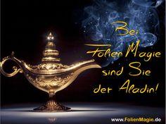 Die perfekte Präsentation dürfen Sie sich bei www.FolienMagie.de wünschen. Wir erfüllen auch mehr als drei Wünsche...