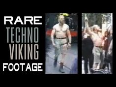 RARE Techno Viking Footage - Every appearance compilation & Enhanced music in Kneecam No.1 video - YouTube Techno Viking, Sci Fi Shorts, Cyberpunk Fashion, Sci Fi Art, Live Music, Short Film, Futuristic, Vikings, Science Fiction