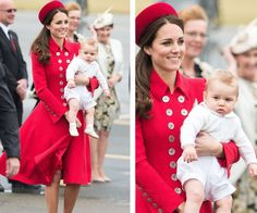 **Gorgeous George:** Did we mention she's the mother to one of the most adorable human beings on the face of the earth, [Prince George?](http://www.womansday.com.au/royals/british-royal-family/prince-george-turns-two-13183)