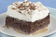 Tres leches de chocolate   Informe21.com #Food #Comida #Receta