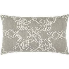 Bimini Knots Sunbrella® Outdoor Pillows