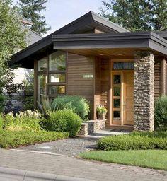 awesome contemporary exterior design photos - Beautiful Small House Design