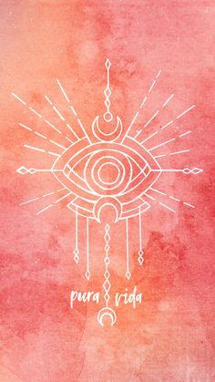 Pin by maryam almutawa on yoga wallpapers in 2019 Eyes Wallpaper, Orange Wallpaper, Cute Wallpaper Backgrounds, Cute Wallpapers, Iphone Wallpaper, Mandala Hippie, Hippie Art, Tumblr Backgrounds, Phone Backgrounds