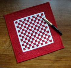 I'm still following my GO! Sew Challenge and this week the GO! has been getting a workout. First off, I finished the little red and white 13...