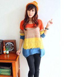 Suéter Listra Color - Importado R$75.00