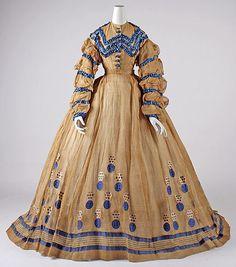 Dress    1865    The Metropolitan Museum of Art