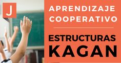 estructuras kagan Biology Classroom, Cooperative Learning, Teaching Aids, Lectures, Critical Thinking, Classroom Management, Collaboration, Teacher, The Unit