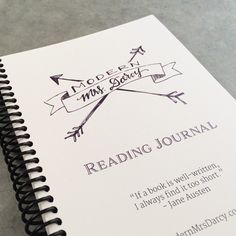 The MMD printable reading journal. A free customizable reading journal to fuel your bookish habit.