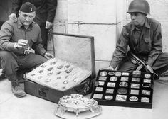 Some of the the Nazi's looted works of art during World War II.