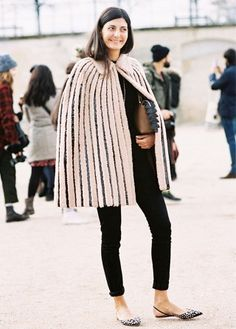 cd934200528 Dress up Your Casual Pieces With These 10 Easy Tips via  WhoWhatWear  Giovanna Battaglia