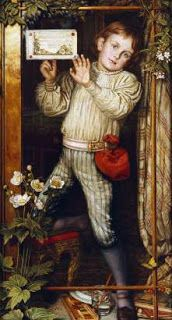 William Holman Hunt - Master Hilary - The Tracer, 1886 (The model for this is Holman Hunt's son)