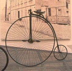 The safety bicycle in the Antique Bicycles, Penny Farthing, Cruiser Bicycle, Hobby Horse, New Inventions, Old Bikes, Electric Bicycle, Rubber Tires, Tricycle