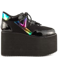 Ridiculously high platform sneaks