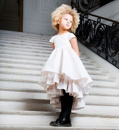 Love the black tights and boots!! Jean Paul Gaultier –Junior ready-to-wear – Autumn-Winter 2014