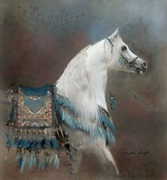 Horse painting #art