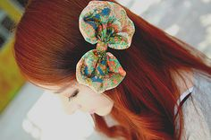 #girls #asians #fashion #bows #red_hair #korean_fashion #ulzzang #kawaii #cute