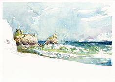 marc's blog on landscape sketching
